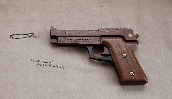 高級木製ゴム鉄砲 GRASP
