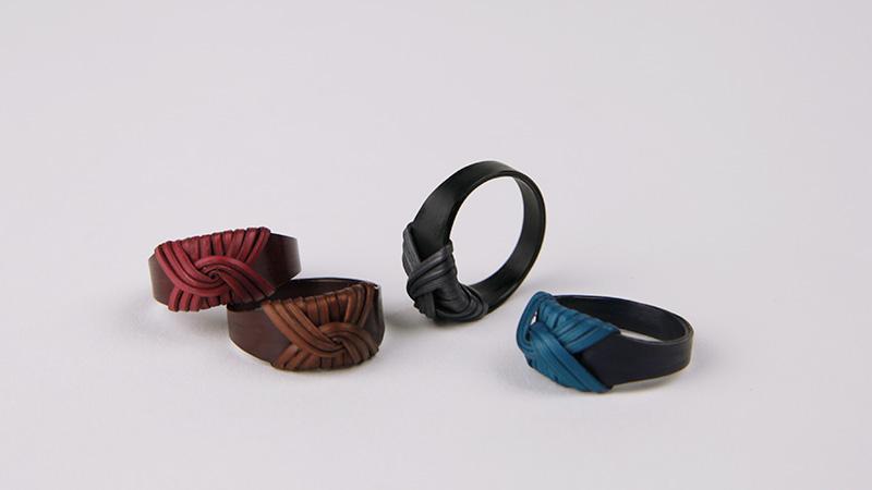 京の伝統を日常にまとう京竹籠のリング