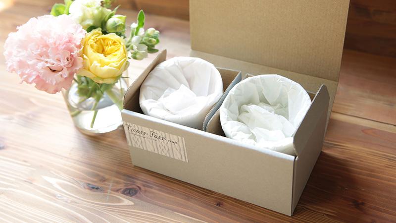 紙箱入りはペア箱のご用意もございます。